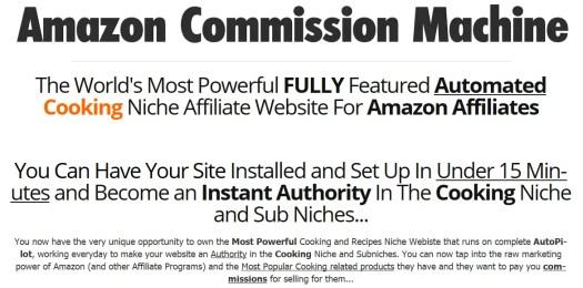 Amazon Commission Machine