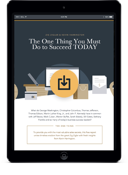 One Thing You Must Do to Succeed TODAY