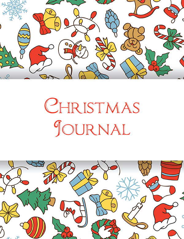 Christmas Coloring Journal