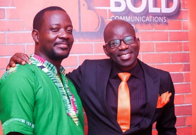 R-L: Jide Adeyemi, Chief Brand Strategist/CEO, Big & Bold Limited and Adesina Mutiu-Okediran