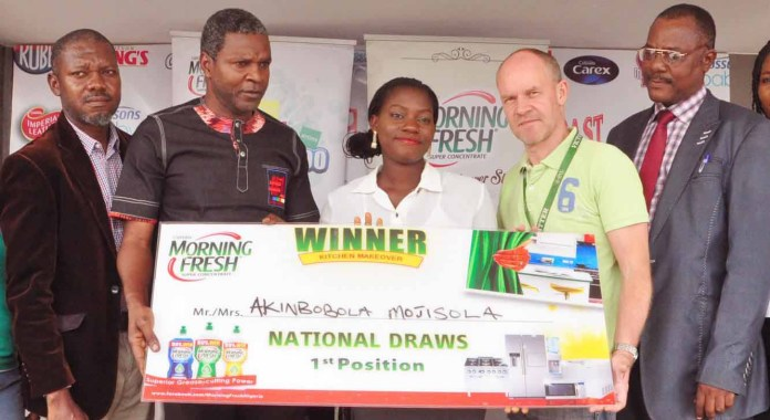 Morning Fresh Fulfills Kitchen Makeover Promo Promise to Consumers - marketingspace.com.ng