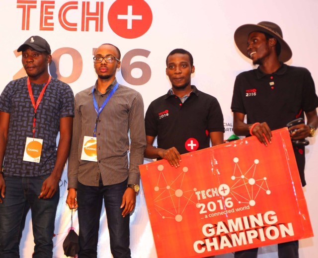 Winners Emerge At 2016 Techplus Gaming Competition - marketingspace.com.ng
