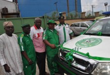 WAI Brigade Gets Operational Vehicle from Pharmatex Industries - marketingspace.com.ng