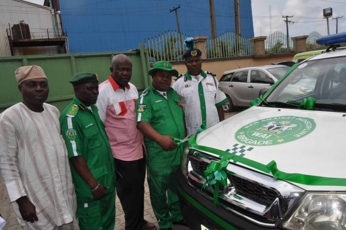 WAI Brigade Gets Operational Vehicle from Pharmatex Industries - marketingspace.com.ng