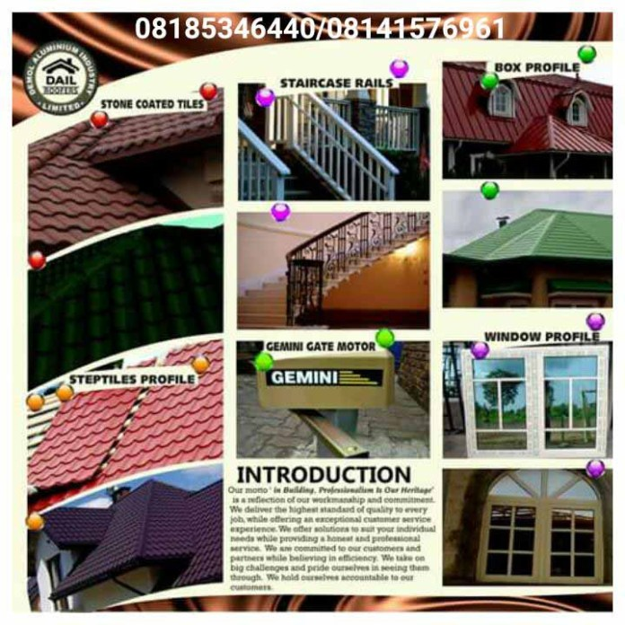 Our Vision Is To Be Leading Aluminium Brand in Nigeria - marketingspace.com.ng