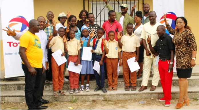 Six Junior School Students Win Total Nigeria's Scholarship -marketingspace.com.ng