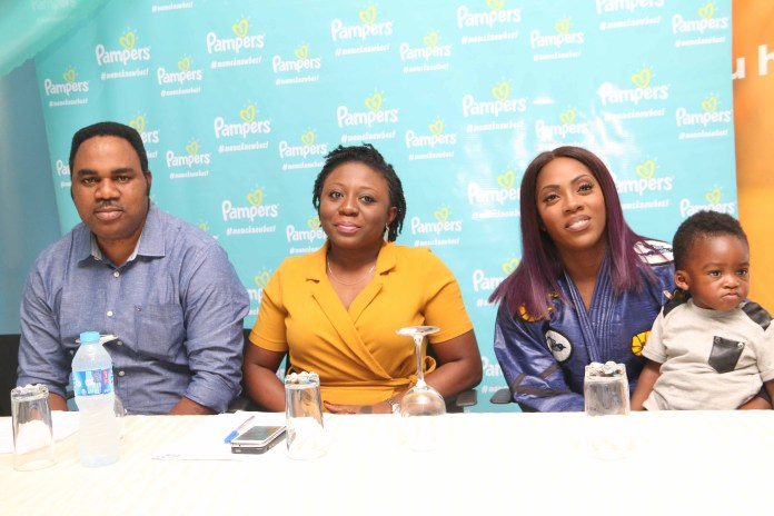 Pampers Takes Tiwa Savage, Moms To Its Newest Plant In Agbara - marketingspace.com.ng