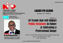 YBO To Speak At January Edition Of Lagos PR Clinic-marketingspace.com.ng