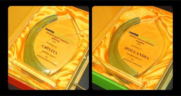 Chivita, Hollandia Bag Best Brand Equity Awards 2016-marketingspace.com.ng