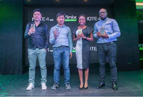 Infinix Note 4 Launched In Nigeria with 'Xpen'-marketingspace.com.ng