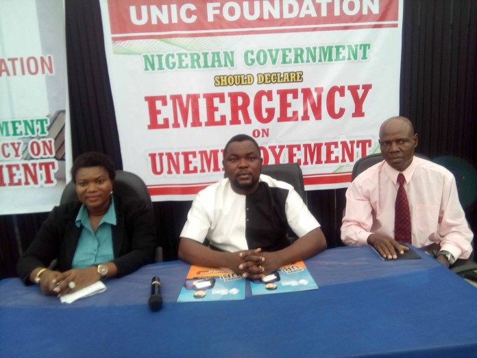 UNIC Foundation Urges FG To Declare State Of Emergency On Unemployment-marketingspace.com.ng