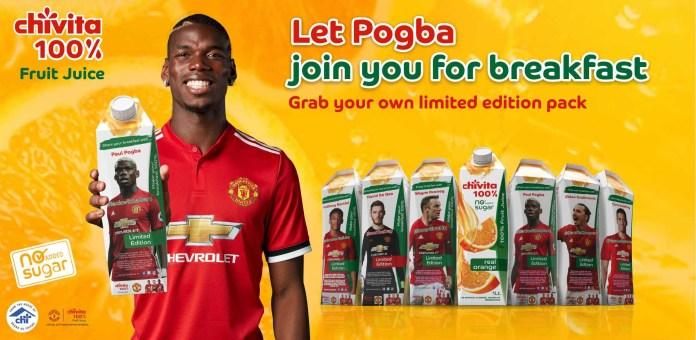 New Chivita 100% Limited Edition Packs Bring Football Stars To Breakfast-marketingspace.com.ng