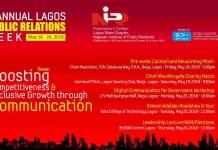 Lagos Chapter Unveils Lagos PR Week 2018 Programmes-marketingspace.com.ng