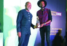 Chris Ogunlowo Wins Marketing Edge's Creative Personality Of The Year-marketingspace.com.ng