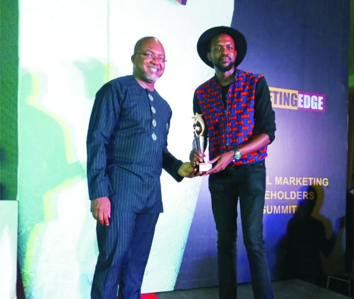 Chris Ogunlowo Wins Marketing Edge's Creative Personality Of The Year-marketingspace.com.ng