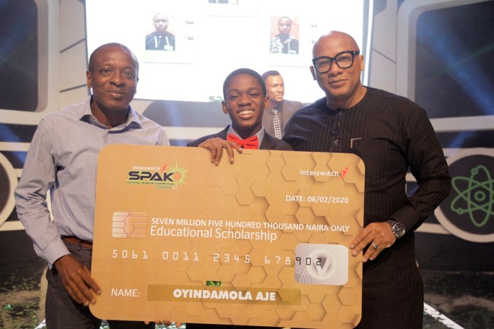 Oyindamola Aje Crowned 'Best Science Student' In Nigeria-marketingspace.com.ng