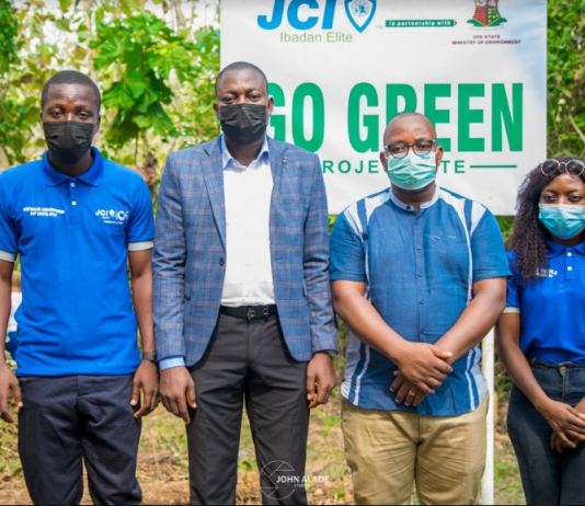 JCI flags Off Afforestation Project In Oyo State-marketingspace.com.ng