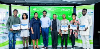 Heritage Bank Partners Silverbird To Empower Young Creative Nigerians… Train 1st Batch Of Ynspyre Project-marketingspace.com.ng