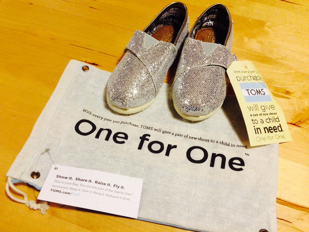 TOMS appeals to consumers' inner narcissist