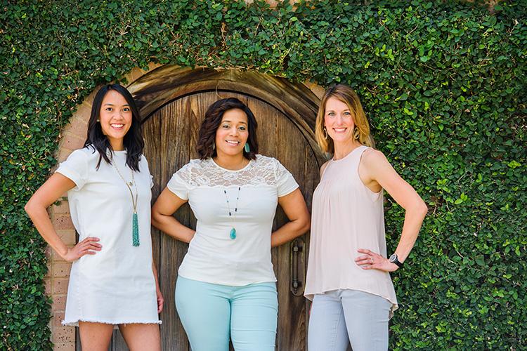the trio marketing team