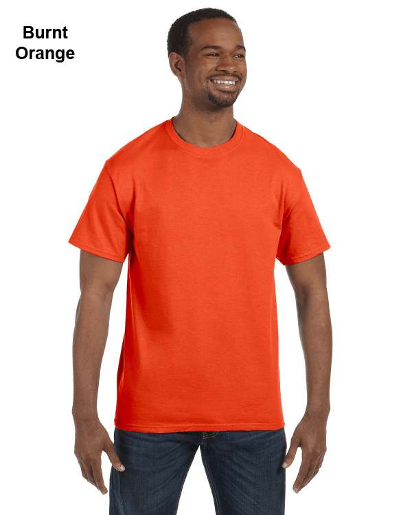 Jerzees Adult 5.6 oz. DRI-POWER ACTIVE T-Shirt Burnt Orange