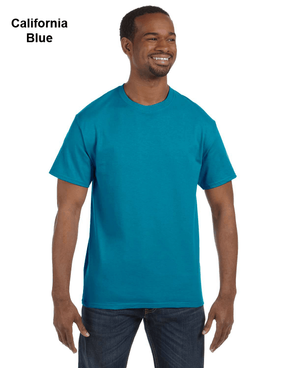 Jerzees Adult 5.6 oz. DRI-POWER ACTIVE T-Shirt California Blue