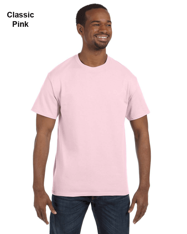 Jerzees Adult 5.6 oz. DRI-POWER ACTIVE T-Shirt Classic Pink