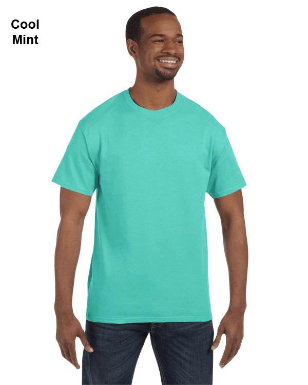 Jerzees Adult 5.6 oz. DRI-POWER ACTIVE T-Shirt Cool Mint