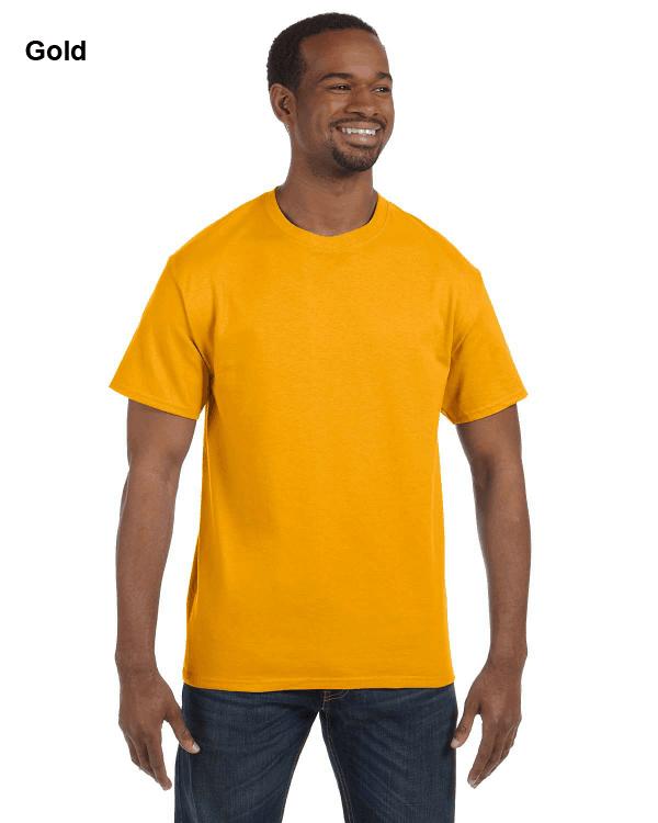 Jerzees Adult 5.6 oz. DRI-POWER ACTIVE T-Shirt Gold