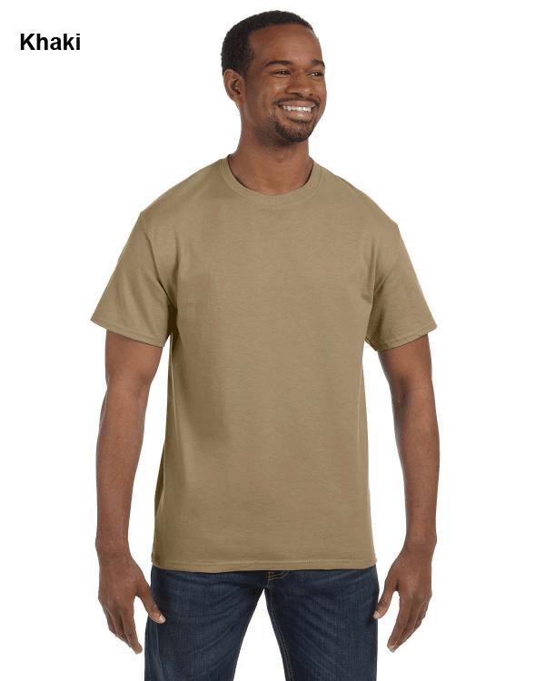 Jerzees Adult 5.6 oz. DRI-POWER ACTIVE T-Shirt Khaki