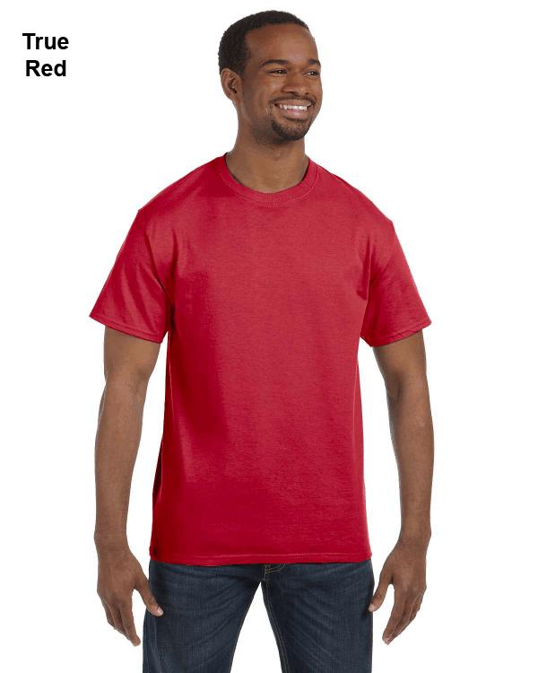 Jerzees Adult 5.6 oz. DRI-POWER ACTIVE T-Shirt True Red