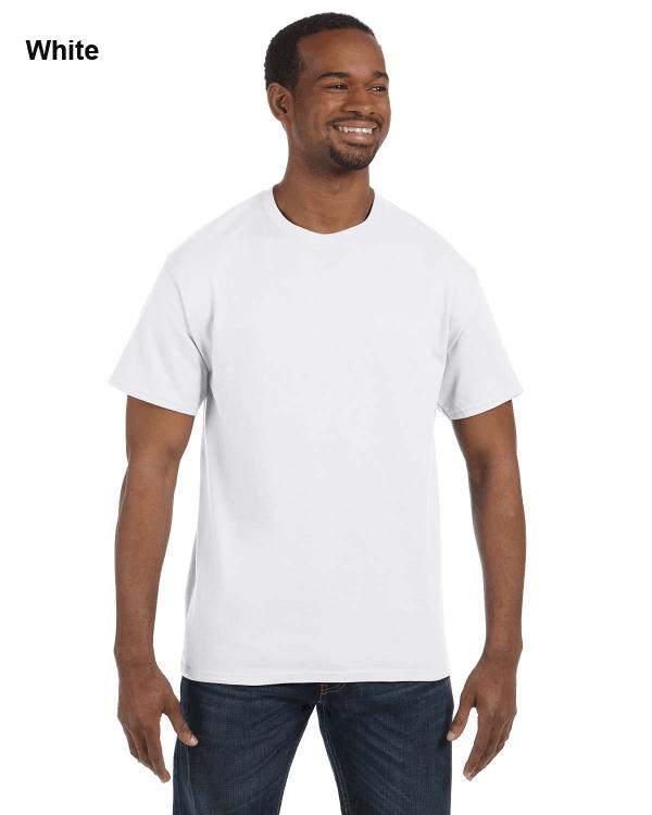 Jerzees Adult 5.6 oz. DRI-POWER ACTIVE T-Shirt White