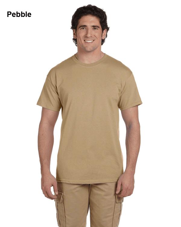 Hanes Adult 5.2 oz., 50/50 EcoSmart® T-Shirt Pebble