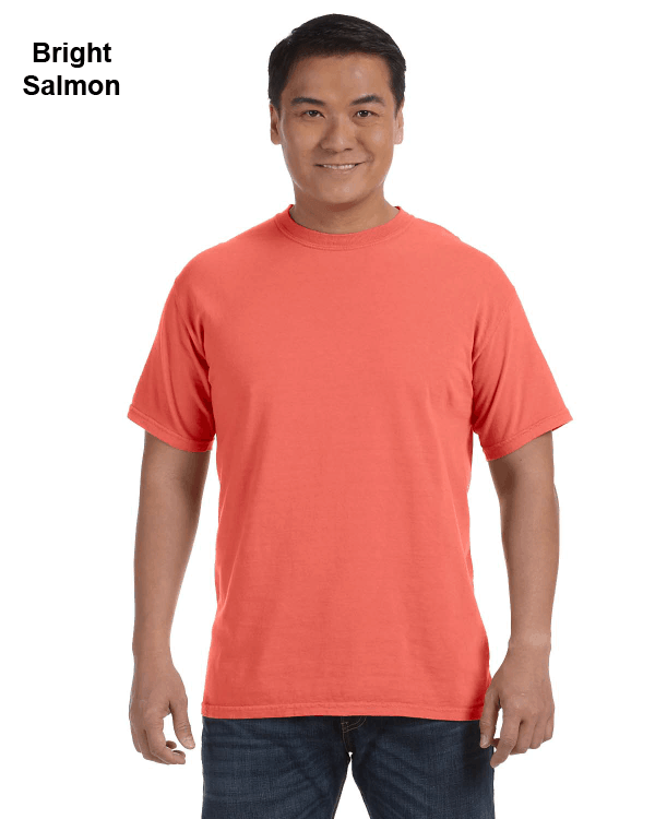 Comfort Colors Adult Heavyweight RS T-Shirt Bright Salmon