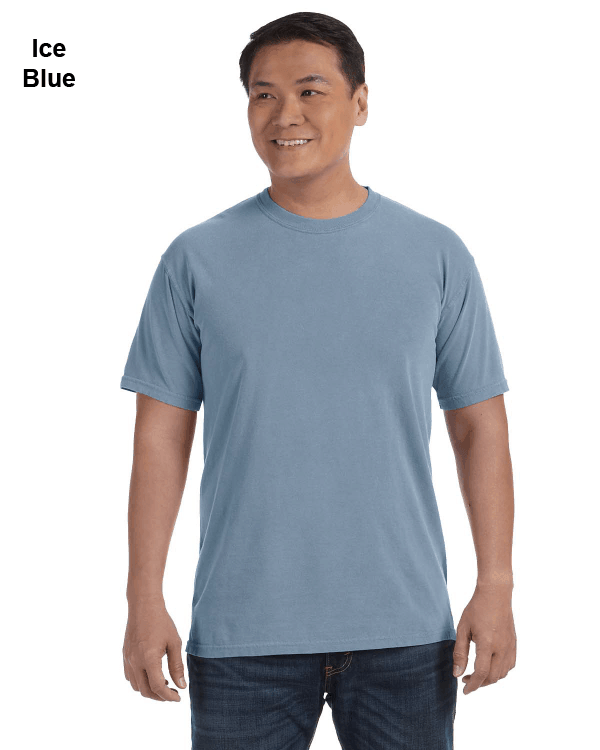 Comfort Colors Adult Heavyweight RS T-Shirt Ice Blue