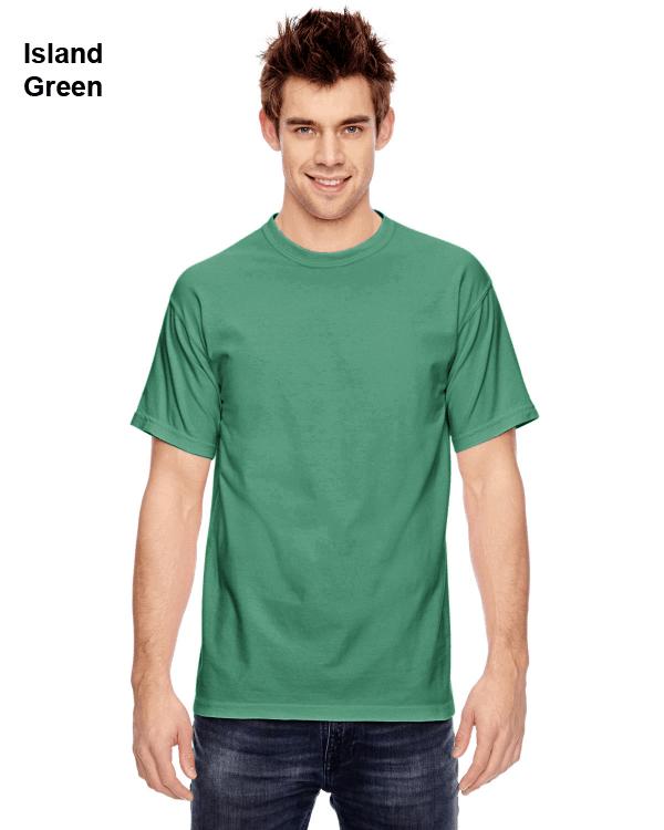 Comfort Colors Adult Heavyweight RS T-Shirt Island Green