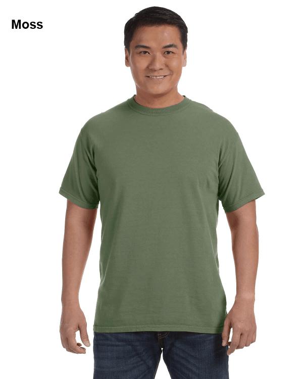 Comfort Colors Adult Heavyweight RS T-Shirt Moss