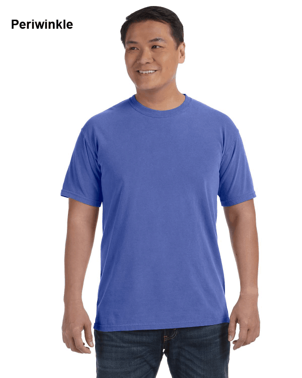 Comfort Colors Adult Heavyweight RS T-Shirt Periwinkle
