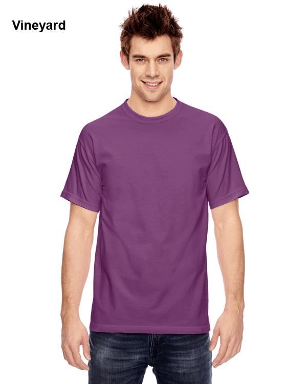 Comfort Colors Adult Heavyweight RS T-Shirt Vineyard