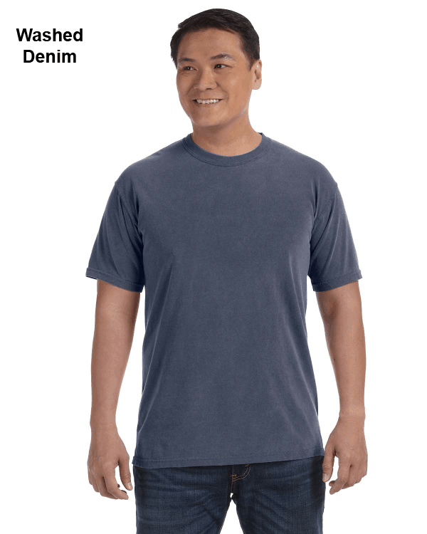 Comfort Colors Adult Heavyweight RS T-Shirt Washed Denim