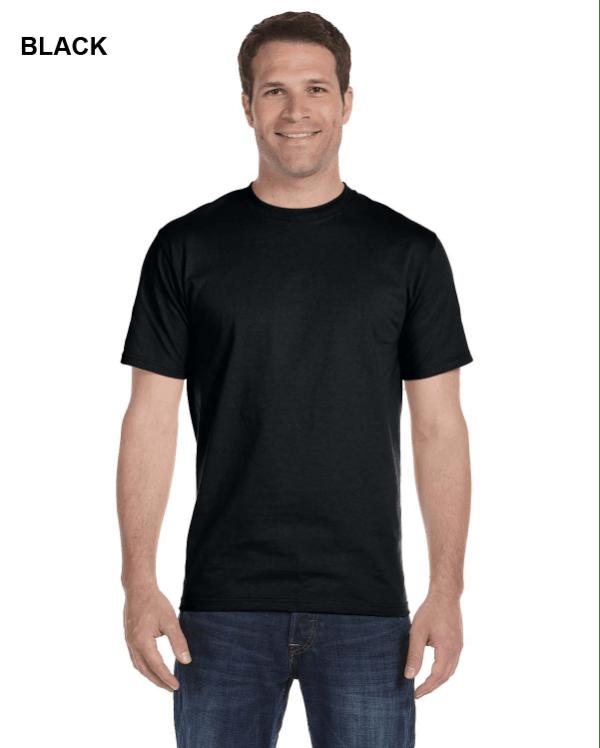 Gildan Adult 5.5 oz., 50/50 T-Shirt Black