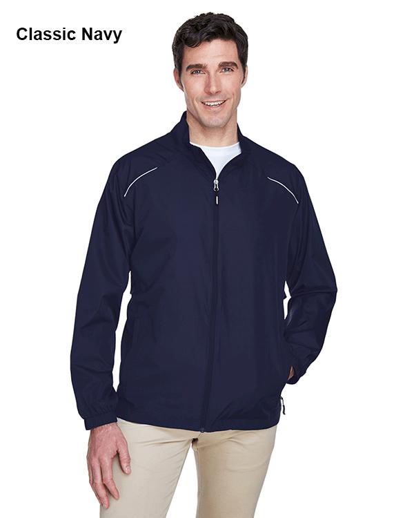 Core 365 Mens Motivate Unlined Lightweight Jacket Classic Navy