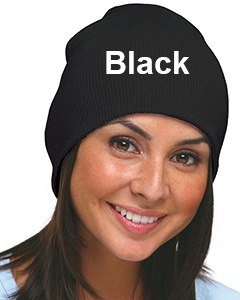 Bayside 100% Acrylic Beanie Black