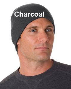 Bayside 100% Acrylic Beanie Charcoal