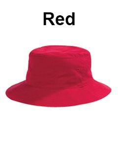 Big Accessories Crusher Bucket Cap Red
