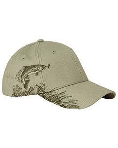 Cotton Twill Trout Cap