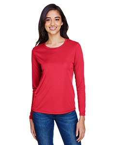 A4 Ladies' Long Sleeve Cooling Performance Crew Shirt