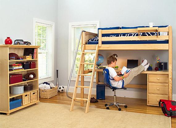 Best Kids Study Loft Beds Part 2