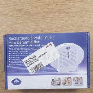 Rechargable Water Glass Mini Dehumidifier