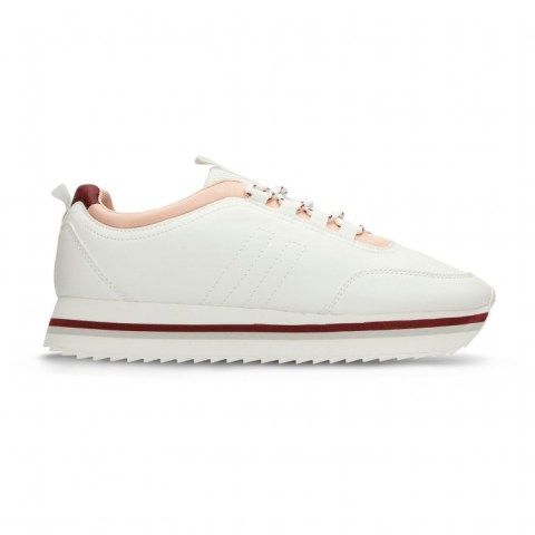 Tenis Casuales Blanco North Star Will R Mujer